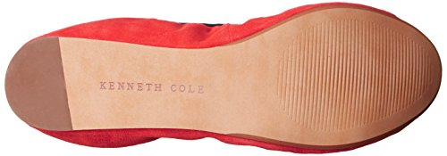 SATURN Cole Kenneth York Ballet Women's Tomato Flat New WArrU14