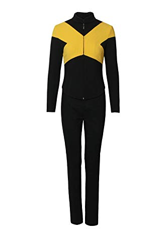 Superhero Full Set Cospaly Costume Outfit Halloween Uniform Suit L -