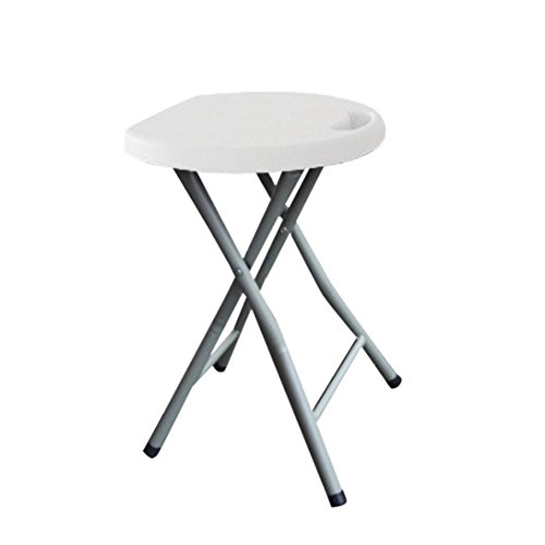 Folding Stool,ZYooh Heavy Duty 400lb Capacity Light Weight Metal and Plastic Folding (400 Metal Furniture)