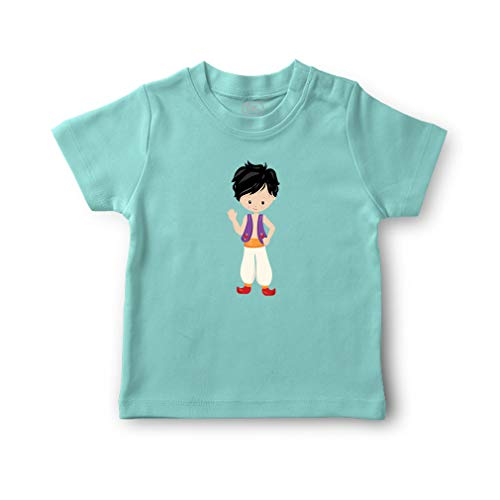 Cute Rascals Small Kid with Old Arab Costume Short Sleeve Crewneck Toddler Boys-Girls Cotton T-Shirt Jersey - Chill, 12 Months