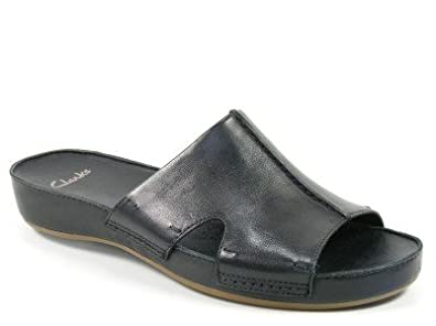 finest selection 0cc21 d3448 Clarks Schuhe Damen Pantoletten Raspberry Ice schwarz ...