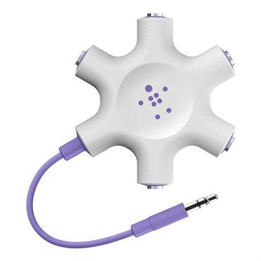 Belkin RockStar 5-Jack Multi Headphone Audio Splitter