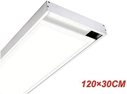 KIT Superficie Para Instalacion de Panel LED 120x30 cm. Lacado Blanco.