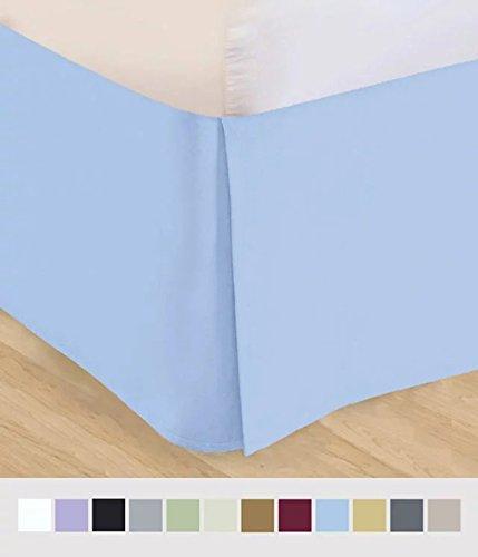 light blue bedskirt - 5