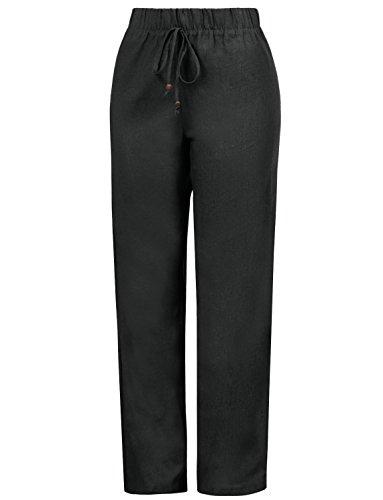 J. LOVNY Women's Casual Wide Leg Palazzo/Chiffon Pants Plus Size ()