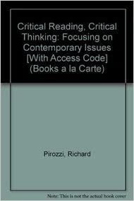 critical reading critical thinking richard pirozzi