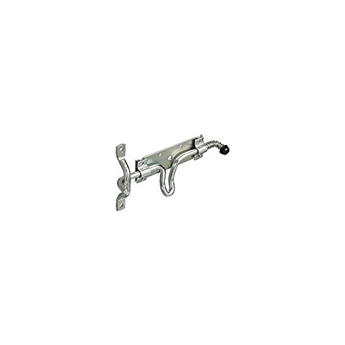NATIONAL HARDWARE N214304 LATCH ORN DR/GT ZN PLT Pack of 5