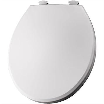 Bemis EC Plastic Round Toilet Seat With Easy Clean And - Bemis white toilet seat