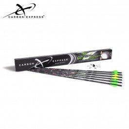 Carbon Express T1314 PileDriver Hunter Fletched BuffTuff Carbon Arrows with 2