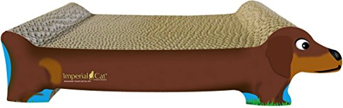 Imperial Cat Brown Dachshund Scratch 'n Shape, Small