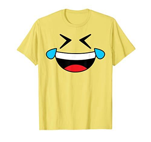 Zombie Halloween Costume Ideas 2019 (Halloween Emoji Costume Shirt Crying Laughing Emoticon Tears)