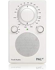 Tivoli Audio PALBT Portable AM/FM Radio with Bluetooth (White)