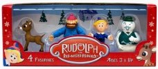 Cactus Games Rudolph the Red-Nosed Reindeer: Collectible Figurine Set 1 (4 Figurines) RUD32110