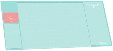Befitery Schreibtischunterlage Multifunktions Schreibtisch Matte Pad Tischmatte kreativ Computer Laptop Mausunterlage Schreibunterlage (Blau)
