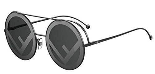 New Fendi RUN AWAY FF 0285/S 807/MD black/grey Sunglasses