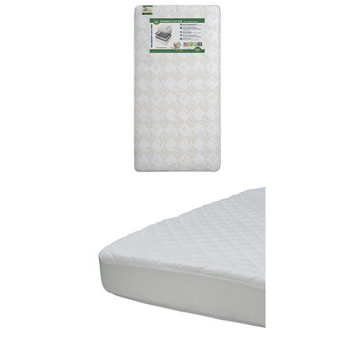 Learn More About Serta Tranquility Eco Firm Crib and Toddler Mattress with Beautyrest Luxury Mattres...