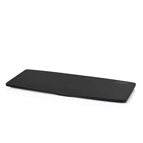 Prosumer's Choice Natural Bamboo TV Swivel Stand for LED/LCD TV, 31 inch Base Surface - Black ()