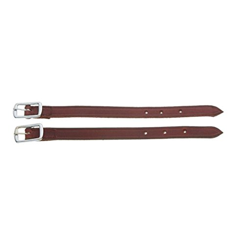 Stirrup Extender - Tough-1 Straight Leather Stirrup Hobble Straps