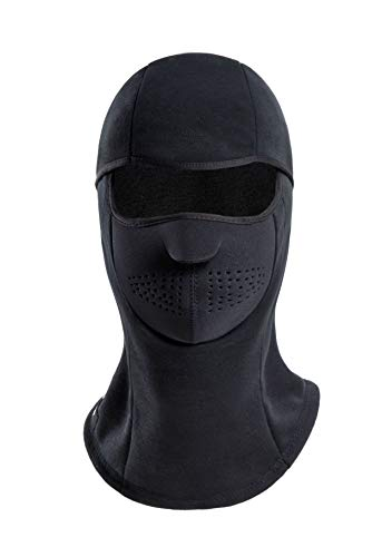 KSKG Balaclava Mask Winter Windproof Fleece Thermal Full Face Ski Helmet and Neck Warmer for Motorcycle Cycling
