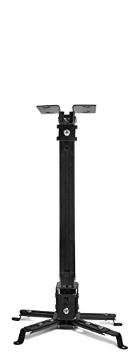Universal Home Theater Projector Ceiling Mount with Adjustable Tilt and Swivel Arm (P-MOUNT-BL) by FAVI (Image #6)