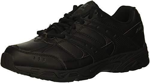 Avia Women's Avi-Verge Sneaker, Jet Black/Castle Rock, 7.5 Wide US