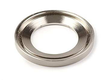 inello brushed nickel mounting ring for vessel sinks