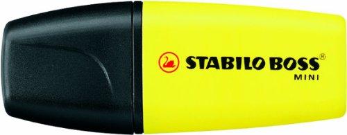 STABILO BOSS MINI 10er Packung gelb - Textmarker