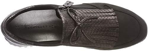 para 11 Pewter Mujer Str 24701 Tamaris 21 Negro Zapatillas Blk Cxw4HUgtqB