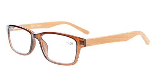 Eyekepper Quality Spring Hinges Bamboo Temples - Bamboo Eyeglasses
