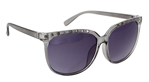 Lentes UV mujer para Gafas 2 gris montura protección FG118 gradiente Grey clara y estilo CAT de negras sol UV400 Foster STU14348 de completa brazos plástico Marco con Fomentar 100 de nvxqp1p