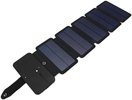 電話 MP3/MP4/PDA パワーバンク用 Queenwind 6W ポータブル折りたたみ式ソーラーパネルパワーチャージャー