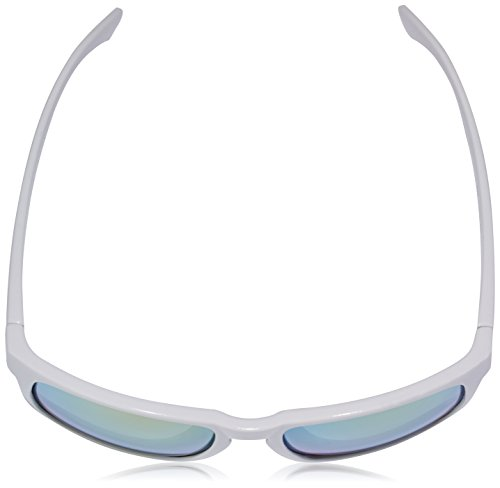 Ocean Sunglasses Blue Moon - lunettes de soleil polarisées - Monture : Blanc Laqué - Verres : Revo Jaune (19202.14) Tf3Sn26
