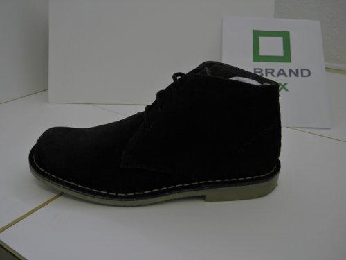 Classic Suede Desert boots.Black.