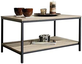 Home Square 3 Piece Coffee Table Set With Coffee Table And Set Of 2 End Tables In Charter Oak Living Room Table Sets