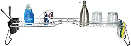 Frigidaire Over-the-Sink Kitchen Organizer & Space Saver, Dish Soap Holder and Drying ()