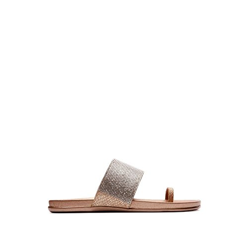 Kenneth Cole REACTION Women's Slim Tricks 2 Toe Ring Sandal, Natural Leopard, 7.5 M US (Womens Cole Natural Reaction Kenneth)