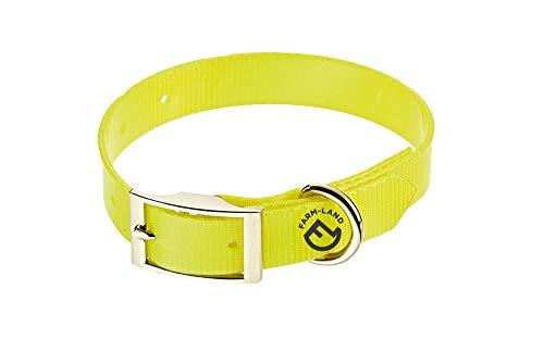 FARM-LAND 90-1-161-001 Basic Dog Collar Signal Yellow 35