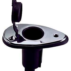 - Perko Threaded Collar Pole Light Mounting Base - 2 Pin - Stainless Steel