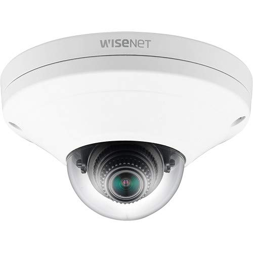 HANWHA | XNV-6011W | 2MP Vandal-Resistant Network Dome Camera, 2.8mm Fixed Lens, IK10/IP66, RJ45 Connection