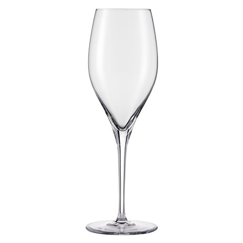 Schott Zwiesel Tritan Crystal Glass Grace Stemware Collection Champagne Flute or Sparkling Wine, 11-Ounce, Set of 8 (Flute Glass)