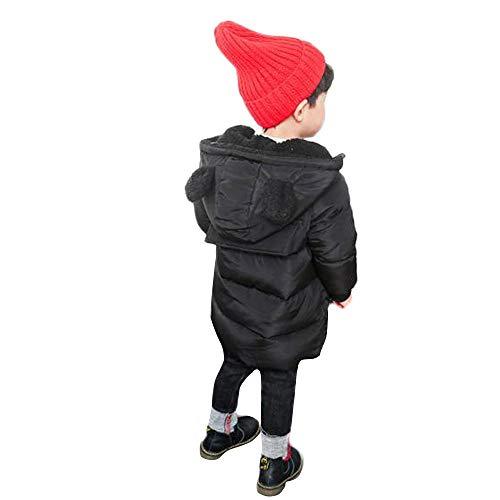 (Winsummer Baby & Little Girls Boys Outerwear Winter Warm Down Puffer Jacket Thick Windproof Cartoon Padded Parka Coat)