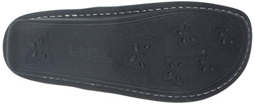 Pictures of Alegria Women's Belle Mary Jane Flat Black Crinkle 35 M EU 6