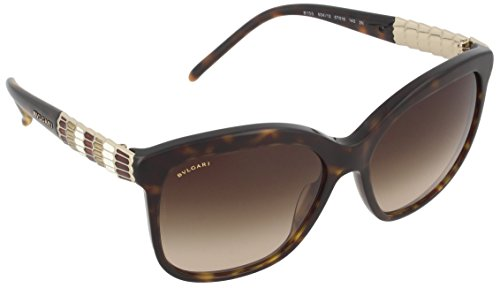Bvlgari BV8155 504/13 Dark Tortoise BV8155 Cats Eyes Sunglasses Lens Category 3 (Sunglasses Bvlgari)