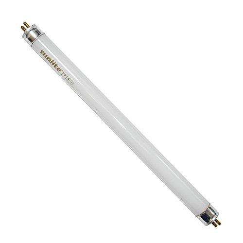(Sunlite 6w T5 F6T5/CW Cool White 9 inch 4100k Fluorescent Tube Light)