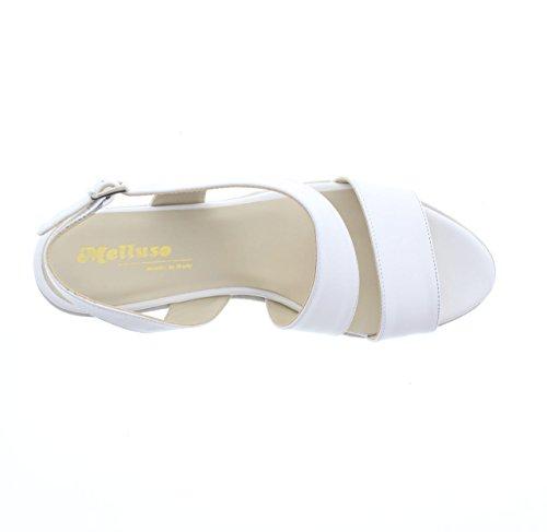 pour Blanc MELLUSO Sandales blanc femme vqPx4Ua