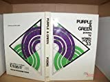 Purple and Green : Poems by Thirty-Three Women Poets, , 0947612165