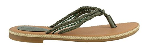 Sperry Top-Sider Women's Anchor Coy (Boxed) Flat Sandal Olive