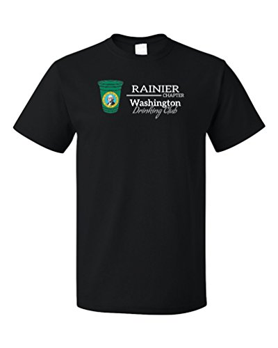 Washington Drinking Club, Rainier Chapter | Funny WA T-shirt