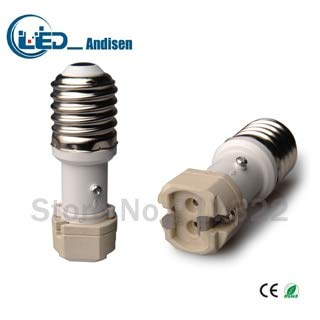 Halica E40 TO G12 adapter Conversion socket material fireproof material E12 socket adapter Lamp holder