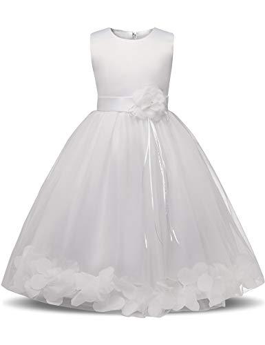 Flower Girl Dresses for Wedding Girl Party Dress Costume for Kids School Girls Graduation Gowns Children,As Photo,7 ()